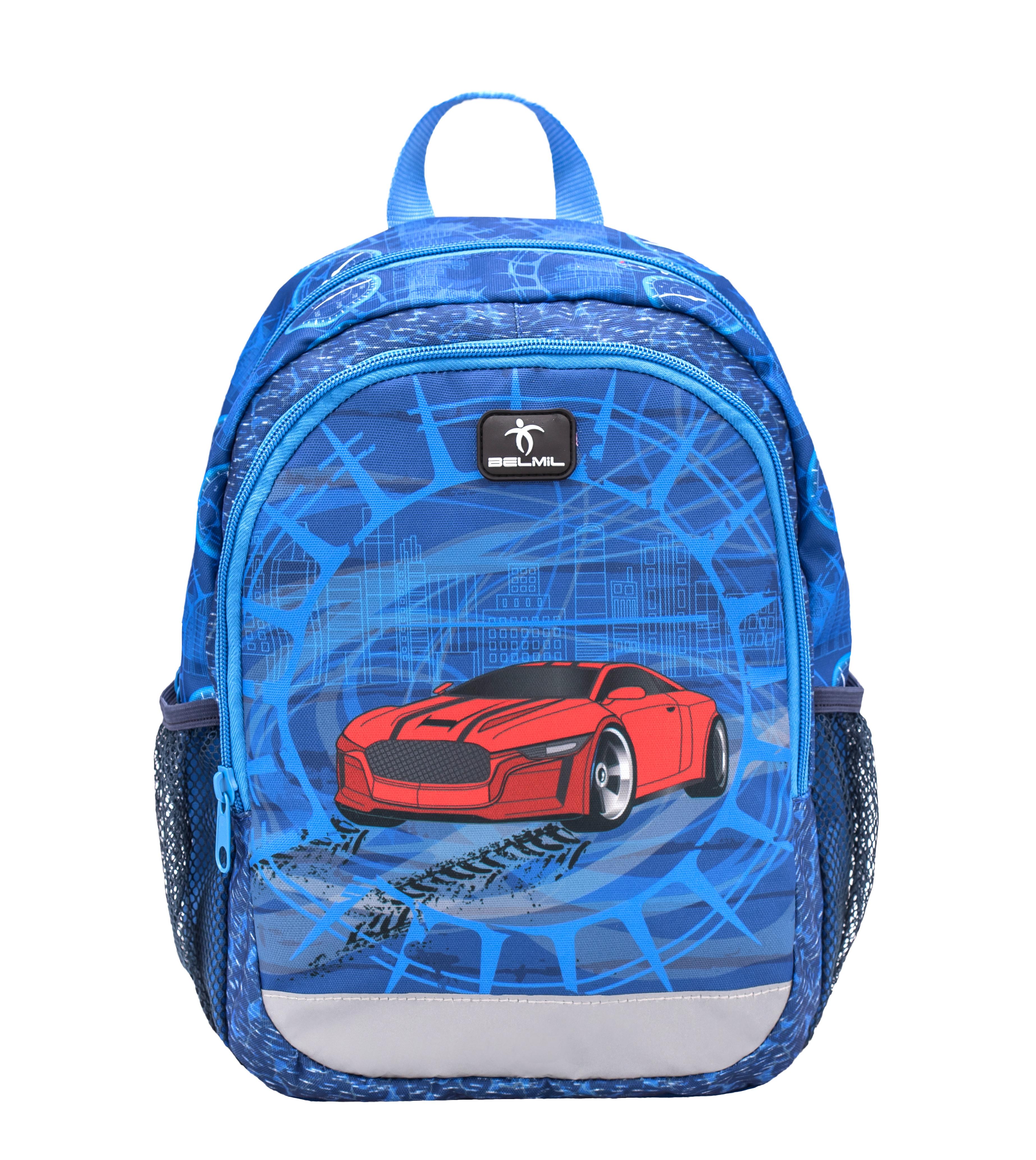 Preschool Backpack Super Car - BELMIL