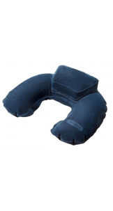 Inflatable Travel Pillow With Pounch Indigo Blue - SAMSONITE