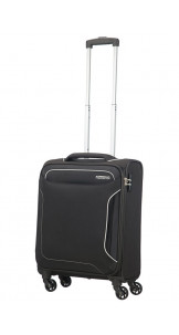 Spinner 55cm Black - AMERICAN TOURISTER