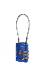 Cablelock 3 Dial TSA Midnight Blue - SAMSONITE