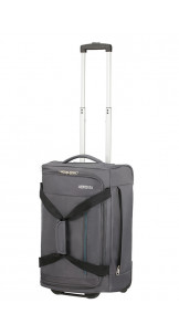 Duffle Bag With Wheels 55cm Charcoal Grey - AMERICAN TOURISTER