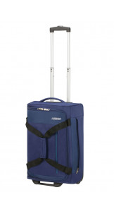 Duffle Bag With Wheels 55cm Combat Navy - AMERICAN TOURISTER