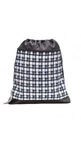 Gym Bag Scotish Black/White - BELMIL