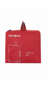 Foldable Luggage Cover L Red - SAMSONITE