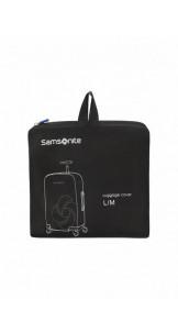Foldable Luggage Cover L/M Black - SAMSONITE