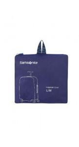 Foldable Luggage Cover L/M Blue - SAMSONITE