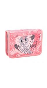 Pencil Case Owl Silver - BELMIL
