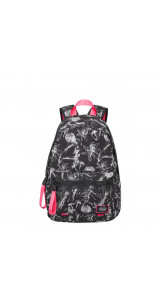 Backpack Flowers Black -  AMERICAN TOURISTER