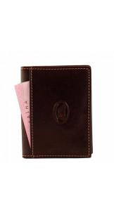 Card Holder Brown - TONY PEROTTI