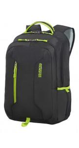 Laptop Backpack 39.6cm/15.6″ Black/Lime Green - AMERICAN TOURISTER