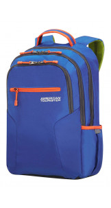 Laptop Backpack 39.6cm/15.6″ Blue - AMERICAN TOURISTER