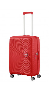 Spinner Expandable 67cm Coral Red - AMERICAN TOURISTER
