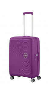 Spinner 67cm Expandable Purple Orchid - AMERICAN TOURISTER