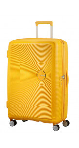 Spinner Expandable 77cm Golden Yellow - AMERICAN TOURISTER