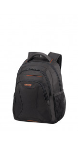 Laptop Backpack 33.8-35.8cm/13.3-14.1″ Black/Orange - AMERICAN TOURISTER