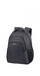 Laptop Backpack 33.8-35.8cm/13.3-14.1″ Grey/Orange - AMERICAN TOURISTER