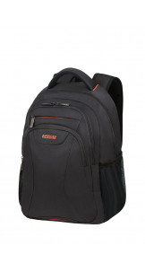 Laptop Backpack 39.6cm/15.6″ Black/Orange - AMERICAN TOURISTER