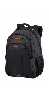 Laptop Backpack 43.9cm/17.3″ Black/Orange - AMERICAN TOURISTER