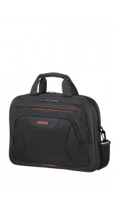 Laptop Bag 39.6cm/15.6″ Black/Orange - AMERICAN TOURISTER
