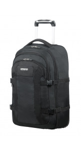 Backpack With Wheels 15.6'' Solid Black - American Tourister