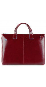 Business Bag Red - PIQUADRO
