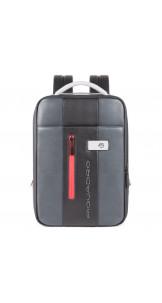 "Backpack 14"" Black / Grey - PIQUADRO"