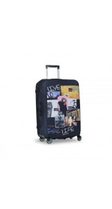 Luggage Cover Postcard M - BG