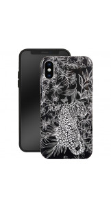 Phone Case Printed / Black - FURLA