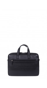 "Briefcase 13"" Black - HEXAGONA"