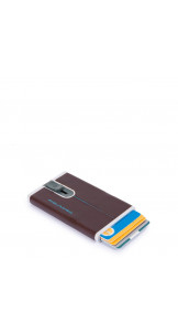 Card Holder Brown - PIQUADRO