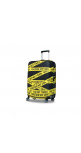 Luggage Cover Caution L - BG